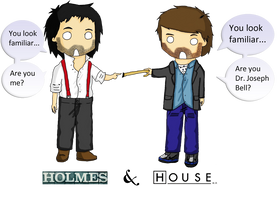House and Holmes by DiagnosticGenius