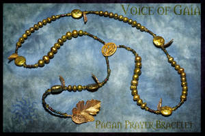 Voice of Gaia Pagan Rosary by Lindowyn