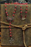 Blood Oath Pagan Rosary by Lindowyn