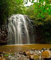Ellinjaa Falls I by Aztil