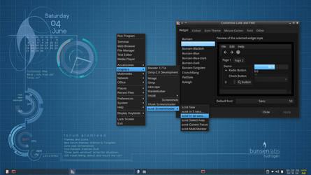 BunsenLabs screenshot by capn-damo