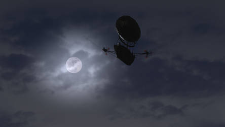 RRS Investigator Night Flight by capn-damo