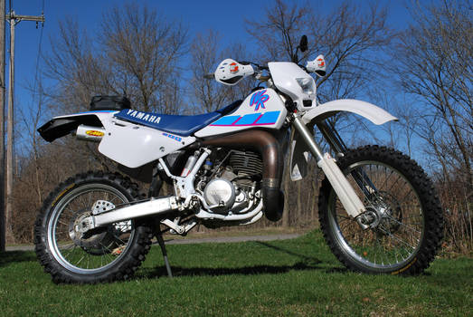 1992 Yamaha WR500 dualsport 2 by Tychoaussie