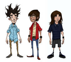 The Boys colored by Axel13-Gallery