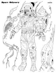 Space Suit A by Axel13-Gallery