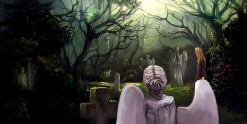 Weeping angels by Lvina