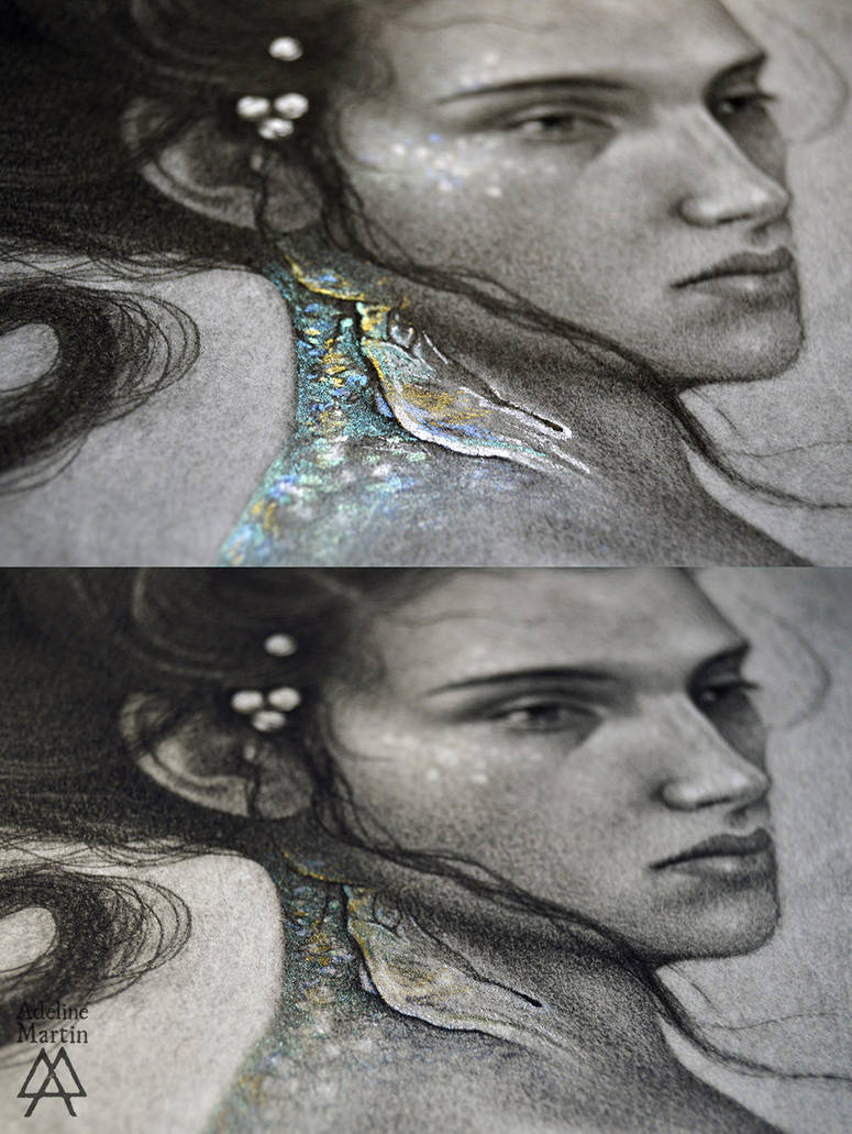 Your Voice is my Price - detail by Adeline-Martin