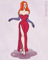 Mrs. Rabbit Pinup 2 by StudioBueno
