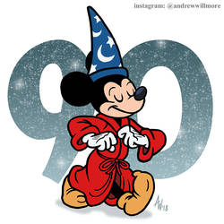 Mickey Turns 90 by StudioBueno