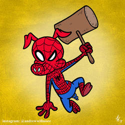 Spider-Ham by StudioBueno
