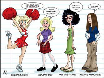 Teen Girl Squad by StudioBueno