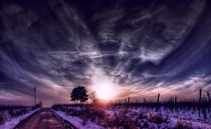New Sun's Fall by pahyzsolt
