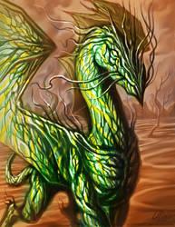 Desert Dragon_Socratys by artsoldier77