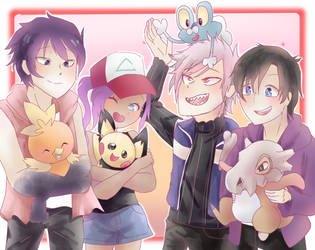 The Pokemon Squad by Azurphore
