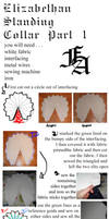 Elizabethan Collar Tutorial Part One by fangirlasylum