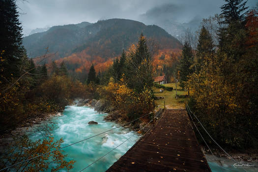 Bridge to Autumn by r-maric