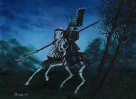 Undead Samurai by neilbruce