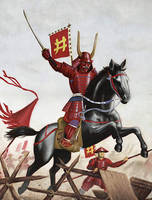 Charge of the red devil by neilbruce