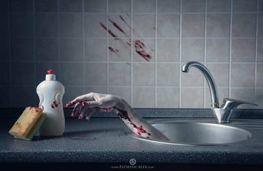 Friday, the 13th - clean up after yourself by Elisanth