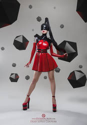 Dead Lotus Couture Red n Black by Elisanth