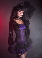 Purple Witch by Elisanth