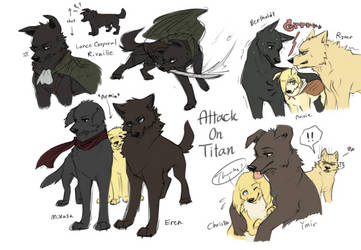 Attack on Titan Dogs Dump by Zencelot