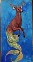 Deer Hippocampus by amytaluuri