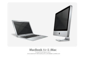 MacBook Air and iMac by Replica-Artist
