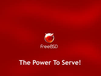 FreeBSD: Power To Serve White by vermaden