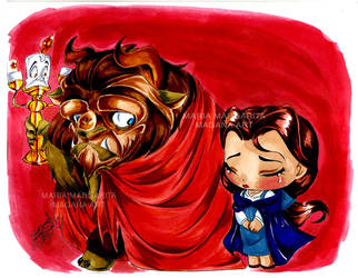 Chibi Beauty and the Beast: Prisoner by selene-nightmare69