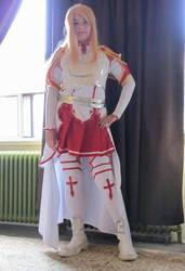 Asuna cosplay 3 2016 by aLittleGlowstick