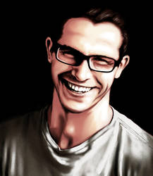 Charles smile by zsomeone
