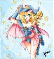 Dark Magician Girl by Ashka-chan