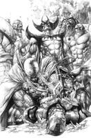 Ironman Thor 3 by sjsegovia