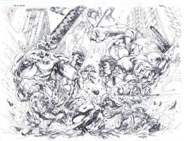 War of the Hulks by sjsegovia