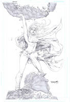 Supergirl rocks! by sjsegovia