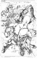 Dark Wolverine 89 pg1 by sjsegovia