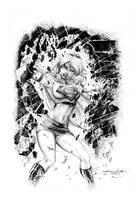 supergirl by sjsegovia