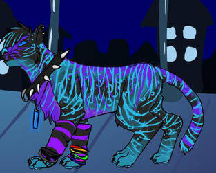 Rave Cat by Angie-SiL3Nc3
