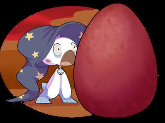 Novice Magic Trial - The Egg by jessabelleanna