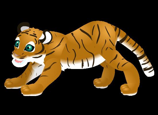 tiger cub by PurpleRat-YS