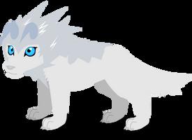 gray wolf by PurpleRat-YS