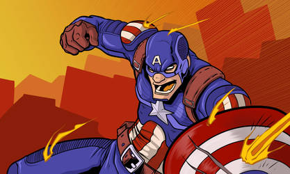 Cap Attack by AstroHelix