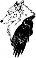 Caliga Raven tattoo by RavenSilverclaw