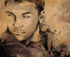 +Sam Worthington+ by Sheridan-J