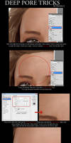 Advanced Skin Pores Tutorial by Sheridan-J