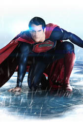 MAN OF STEEL by Sheridan-J