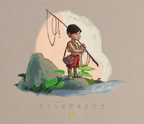 Fisherboy by taytahs