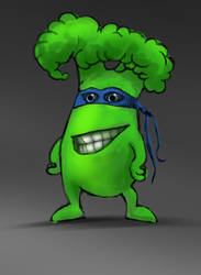 mr broccoli by damir-g-martin