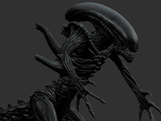 Alien model by damir-g-martin
